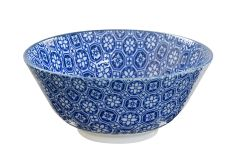 JP Tayo Bowl 15.2x6.7cm Nippon Blue Flower