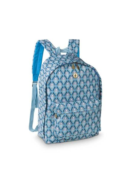 Pip Studio BTS Indian Festival  Backpack Blue