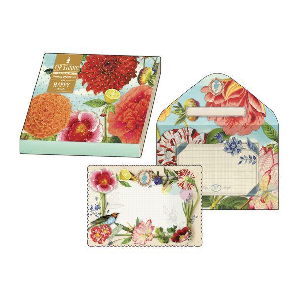Pip Studio Invitation Cards and Envelopes (10pcs)
