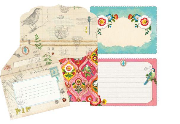 Pip Studio Invitation cards+envelopes 10 pcs