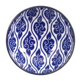 Nippon Blue Dish 9.5x3cm Cloud 15603 12/144