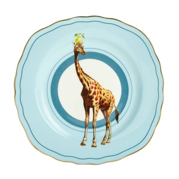 Yvonne Ellen Cake Plate Giraffe