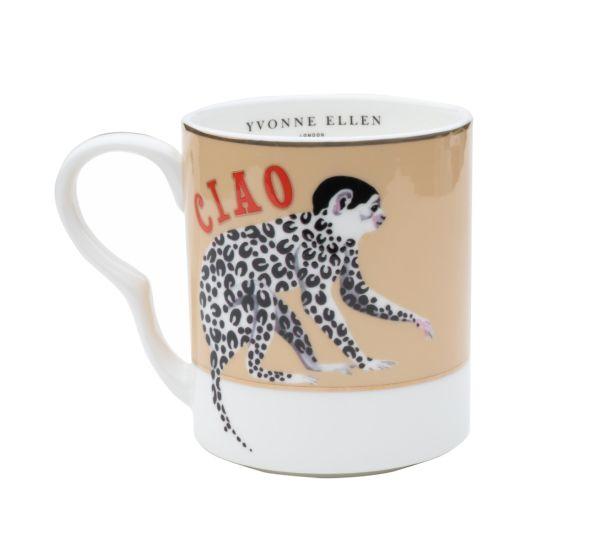 Yvonne Ellen Monkey Small Mug
