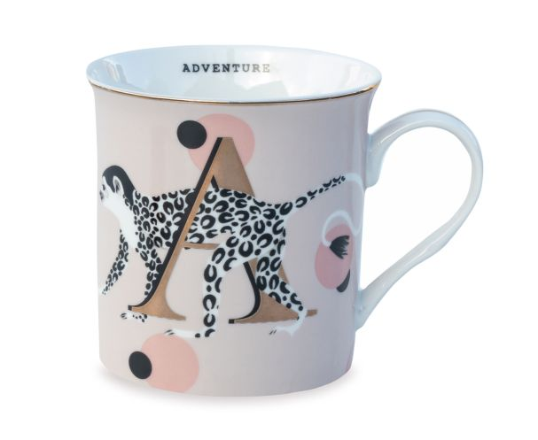 Yvonne Ellen A for Adventurer Mug