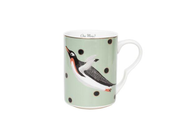 Yvonne Ellen Christmas Penguin Mug