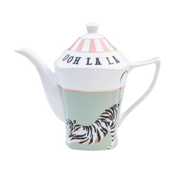 Yvonne Ellen Teapot Ooh La La Tiger (New Shape)