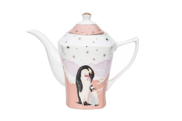 Yvonne Ellen Christmas Teapot