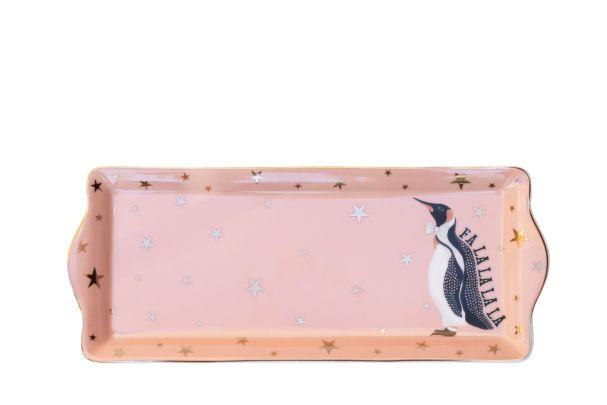 Yvonne Ellen Christmas Penguin Cake Tray