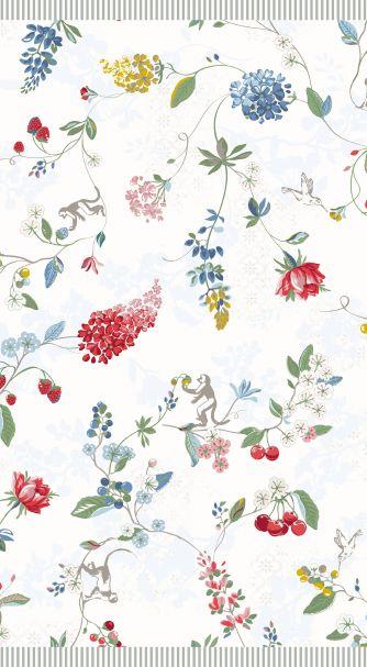 Pip Studio Star White Hummingbirds Towels
