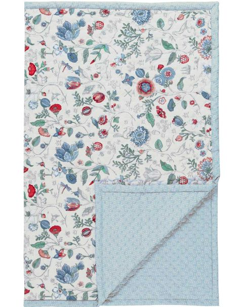 UK - Spring to Life Petit Quilt Star White 180x260
