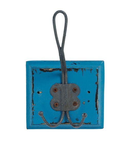 Nordal COUNTRYSIDE Coat rack,1 hook, d.blue