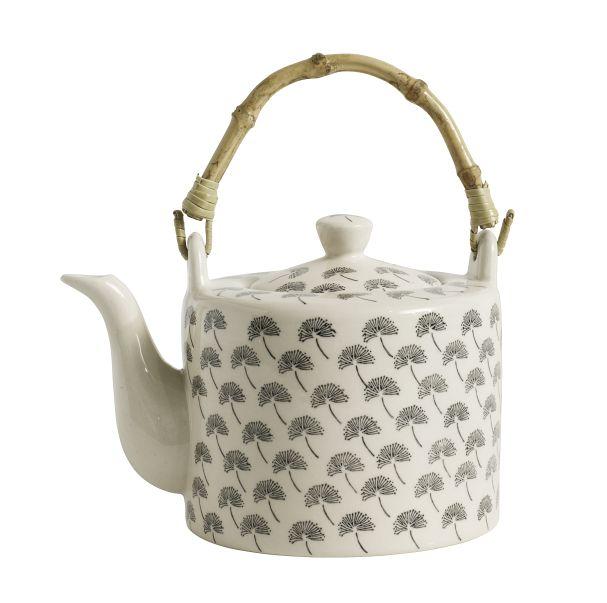 Nordal BLOSSOM Dandelion teapot,black,17x12x12