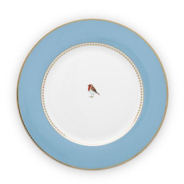 Love Birds Blue 26.5cm Plate