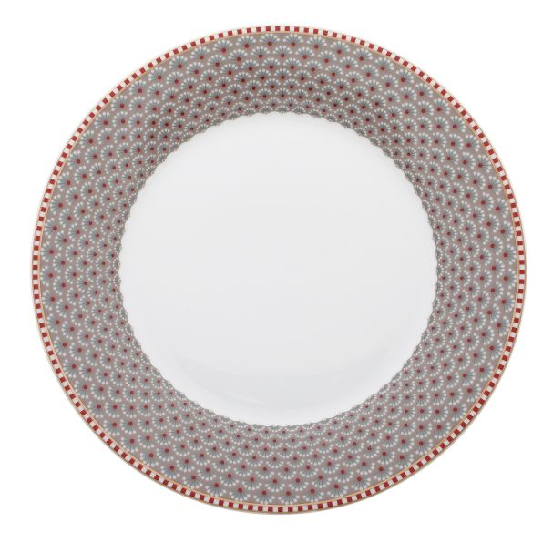 Plate Bloomingtales 21 cm Khaki