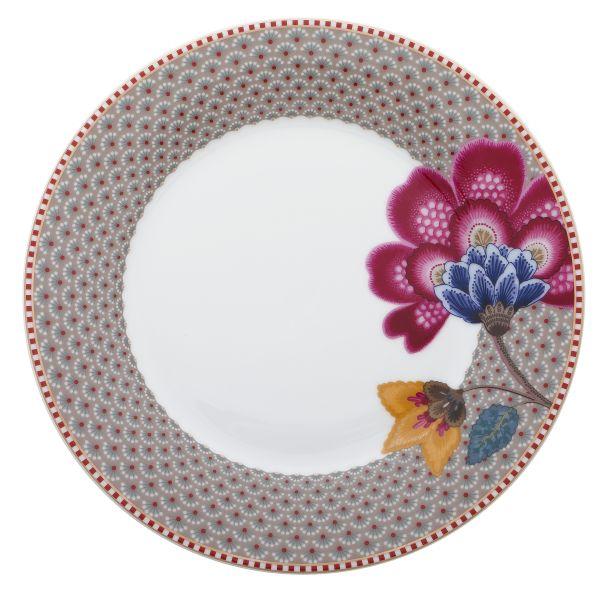 Plate Fantasy 21 cm Khaki