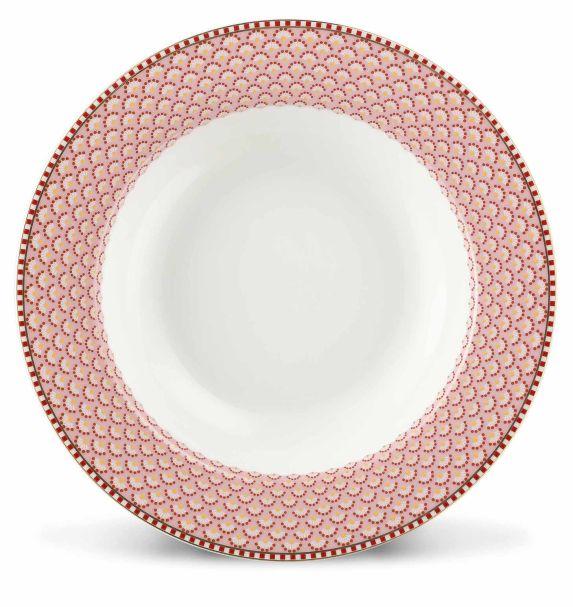 Pip Studio Soup plate Bloomingtales 21,5 cm Pink