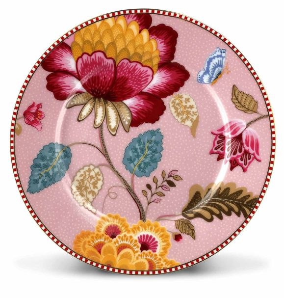 Pip Studio Plate Fantasy 17 cm Pink