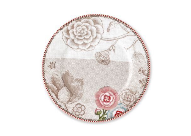 Pip Studio Spring to Life Cream Plate 21cm Pre-Order only