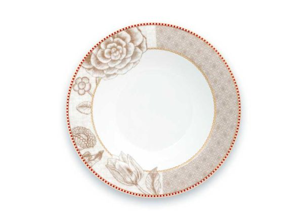 Soup Plate Spring to Life Off White 21.5cm