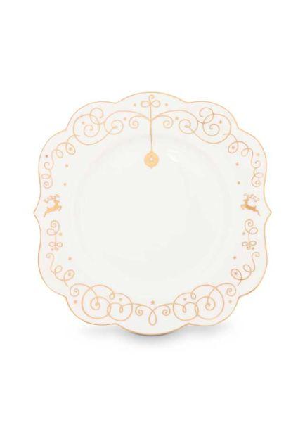 Plate Royal Christmas 17cm