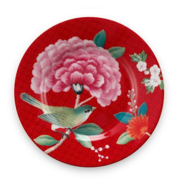 Petit Four Blushing Birds Red 12cm