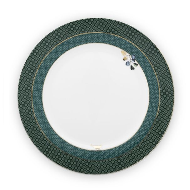 Plate Winter Wonderland Green 26.5cm