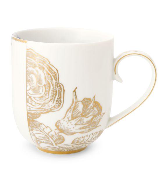 Pip Studio Mug Large Royal White