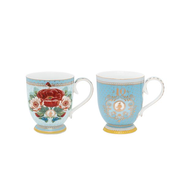 10th Anniversary Set/2 Mugs