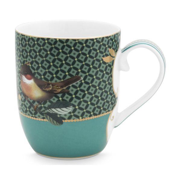 Small Winter Wonderland Bird Green 145ml Mug
