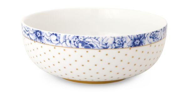 Pip Studio Bowl Royal White - 15 cm