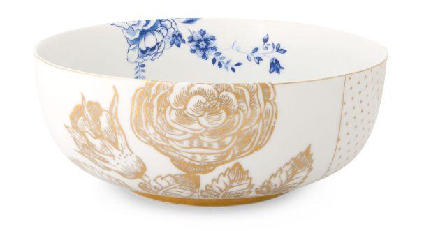 Pip Studio Bowl Royal White - 23 cm