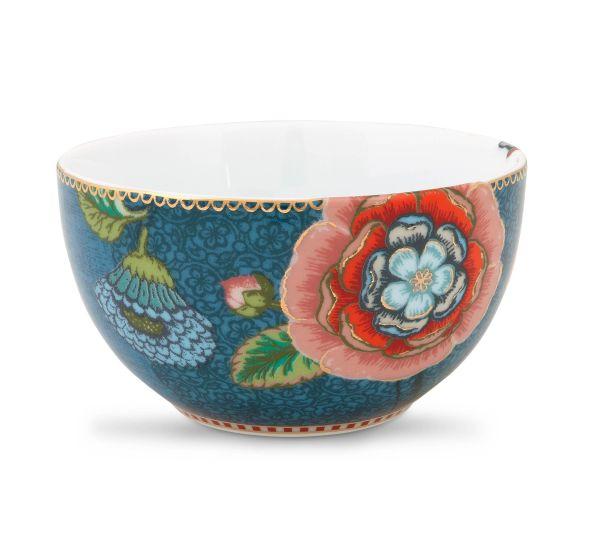 spring to life blue12cm bowl