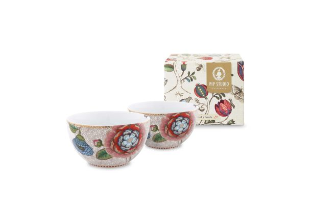 Spring to Life Set/2 Cream Bowls 12cm