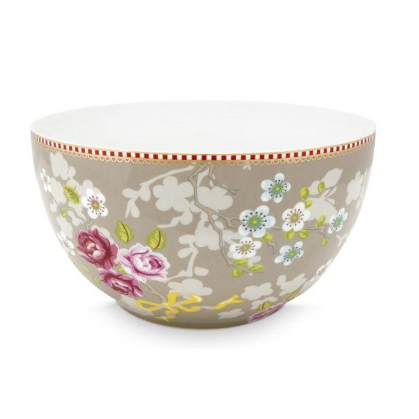 Pip Studio Chinese Rose Khaki 18cm Bowl