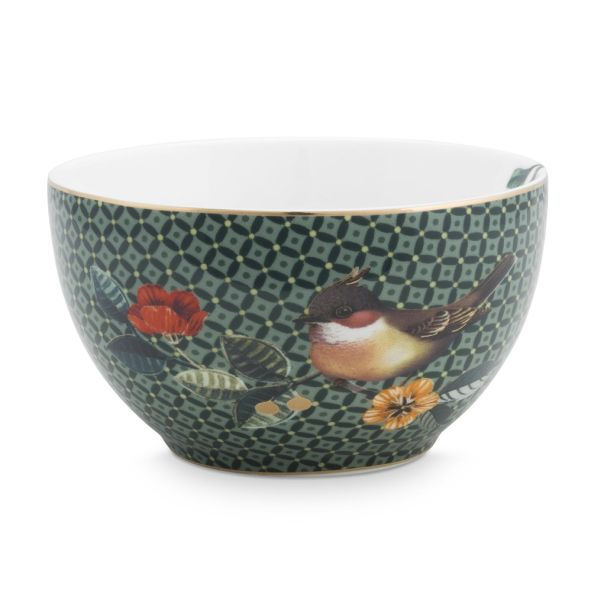 Bowl Winter Wonderland Green 9.5cm