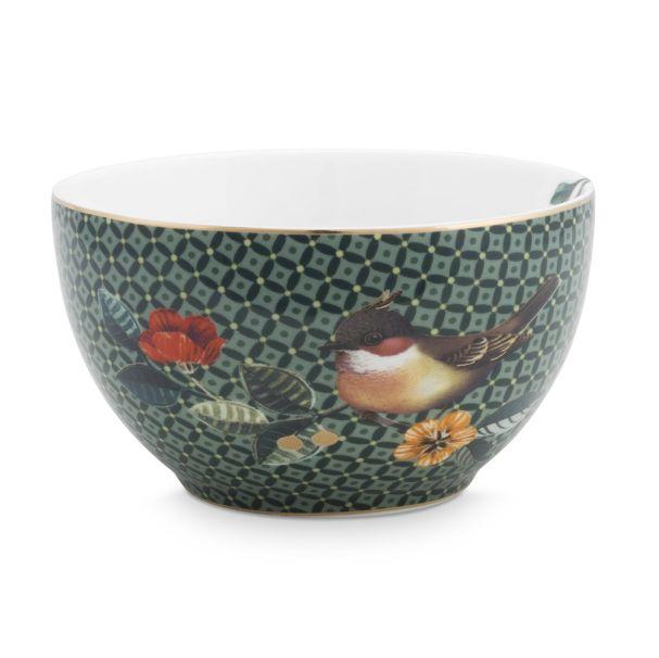 Bowl Winter Wonderland Green 9.5cm