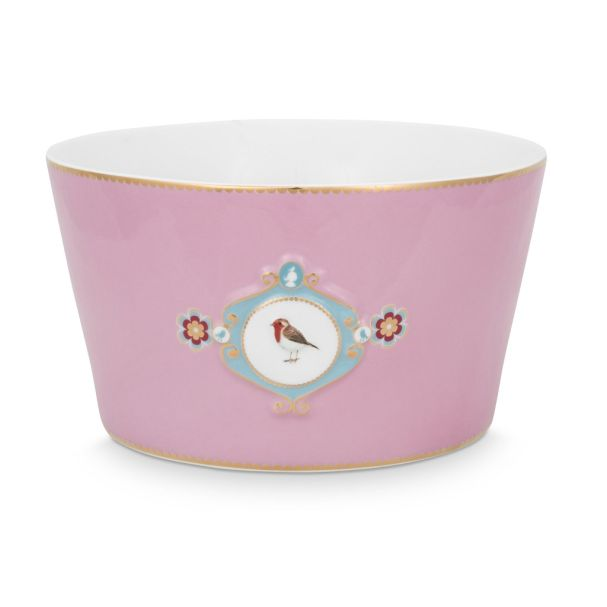 Love Birds Medallion Pink 20cm Bowl