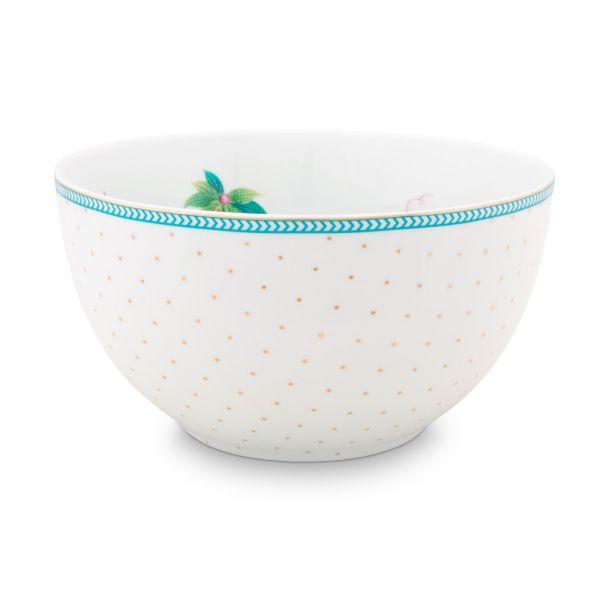 Pip Studio Jolie Flowers Dots Gold 15cm Bowl