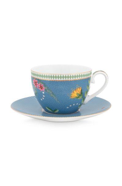 La Majorelle Blue 280ml Cup & Saucer