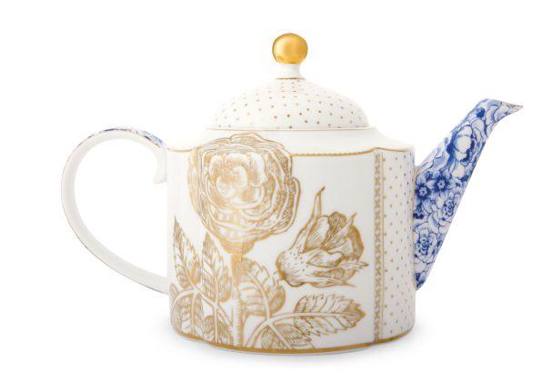 Pip Studio Teapot Royal White