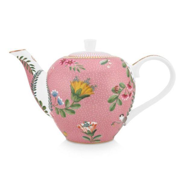Small La Majorelle Pink 750ml Tea Pot