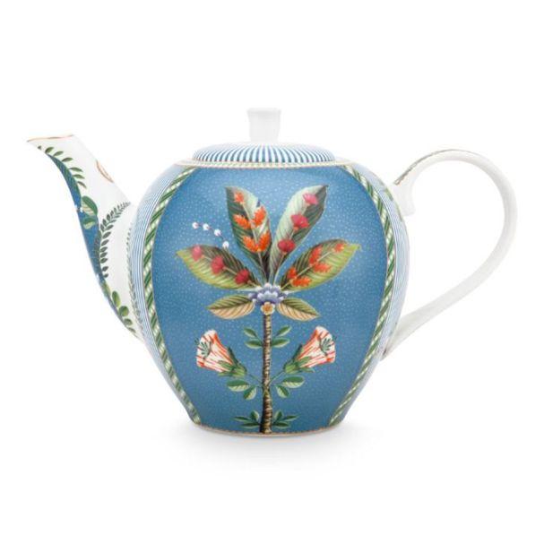 La Majorelle Blue 1.6ltr Tea Pot