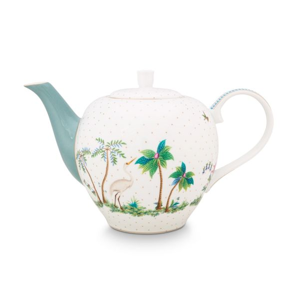 Pip Studio Large Jolie Dots Gold 1.6ltr Tea Pot