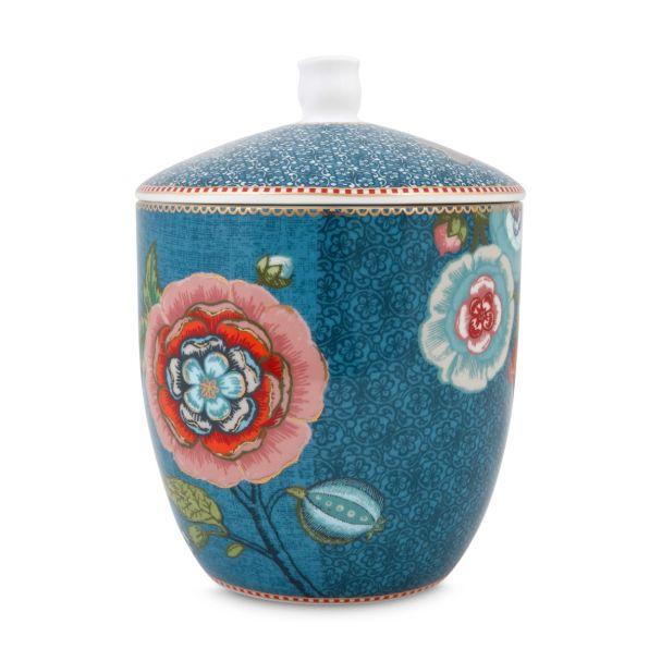 greblueen spring to life storage jar