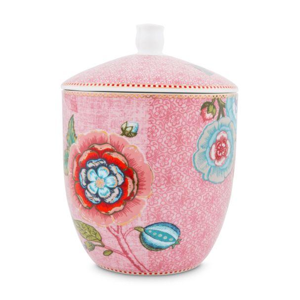 Storage Jar Spring to Life Pink