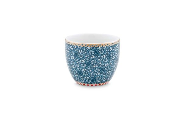 Egg Cup Spring to Life Blue