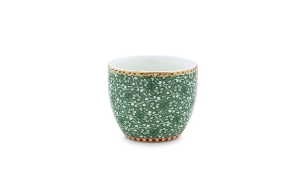 Egg Cup Spring to Life Green