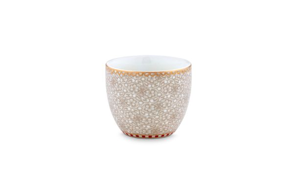 Egg Cup Spring to Life Off White