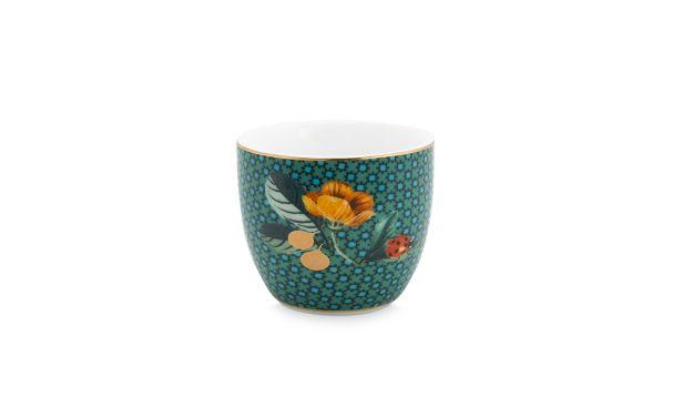 Winter Wonderland Ladybug Green Egg Cup