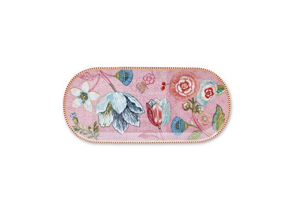 Rectangular Cake Tray Spring to Life Pink